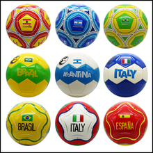 High Quality Seamless PU Football Leather Size 5 Soccer Ball