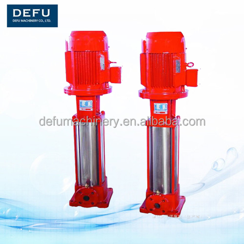QDL vertical single suction multistage fire pump