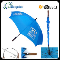 Wood Handle Golf Style Custom Large Advertising Market Umbrella