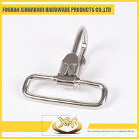 Nickel iron 2.5 ID38mm H47mm lobster claw bag snap hook