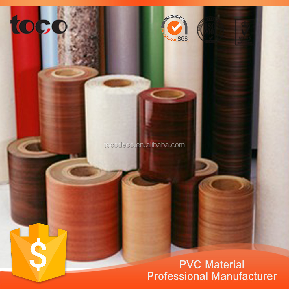 Super Quality Wall Decorative Film Self Adhesive PVC Wood Foil