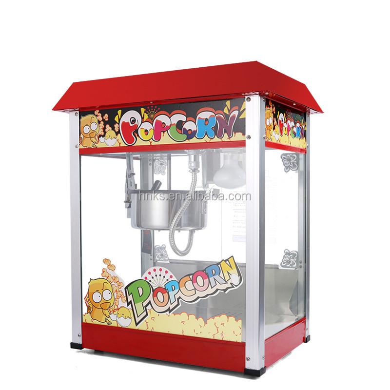 how to make popcorn on a popcorn machine