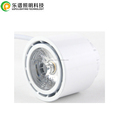 dim 2warm 1800k to 2800k cob spotlight exteral driver aluminum downlight gu10 replacement