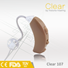 Hot sale! open fit hearing aid, analogue hearing aid,personal sound amplifier