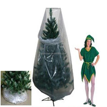 cheap plastic disposable christmas tree removal bag for storage