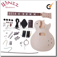 [WINZZ] LP style China DIY electric guitar kits (EGR200A-W)
