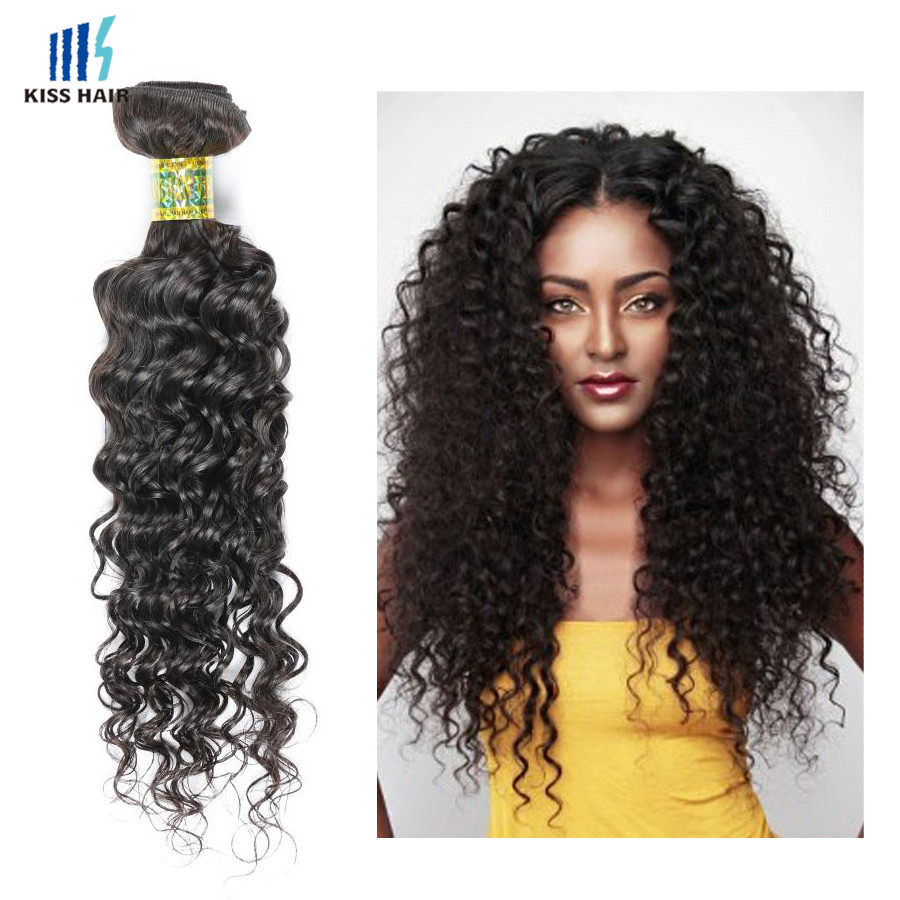 Factory Cheap Virgin Malaysian Cheap Malaysian Curly Hair Extesnion, 28 Inches Malaysian Curly Hair