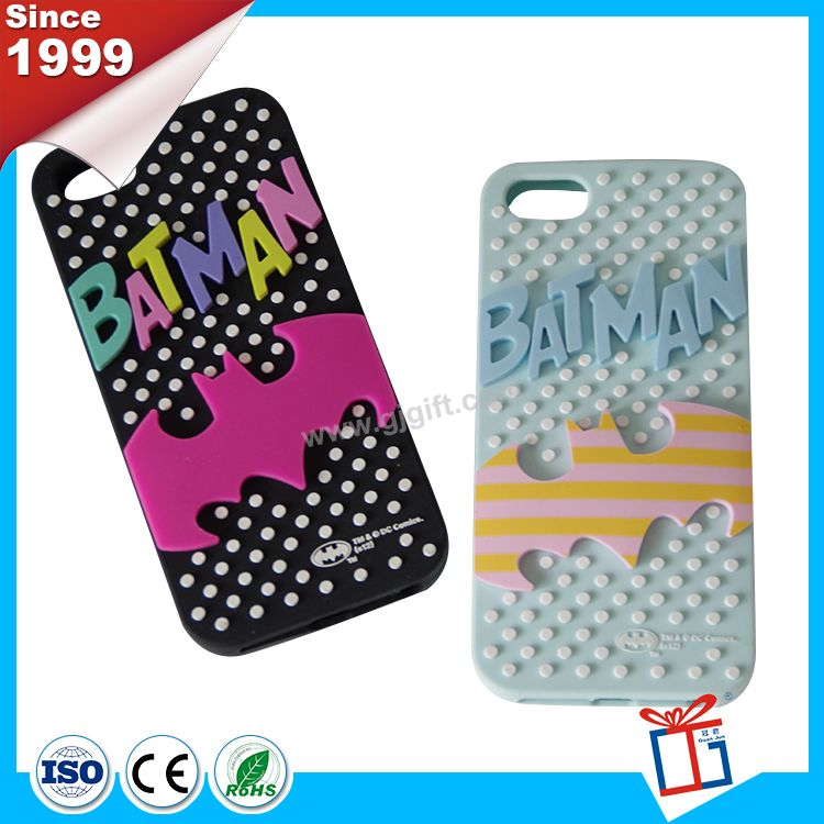 Fashionable cheaper 3d silicone phone case
