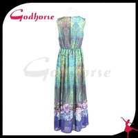 China Supplier Gorgeous Party Girl Evening Summer Dress