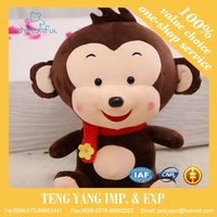 Lovely Monkey Plush Toy Girl and Boy Monkey Stuffed Doll