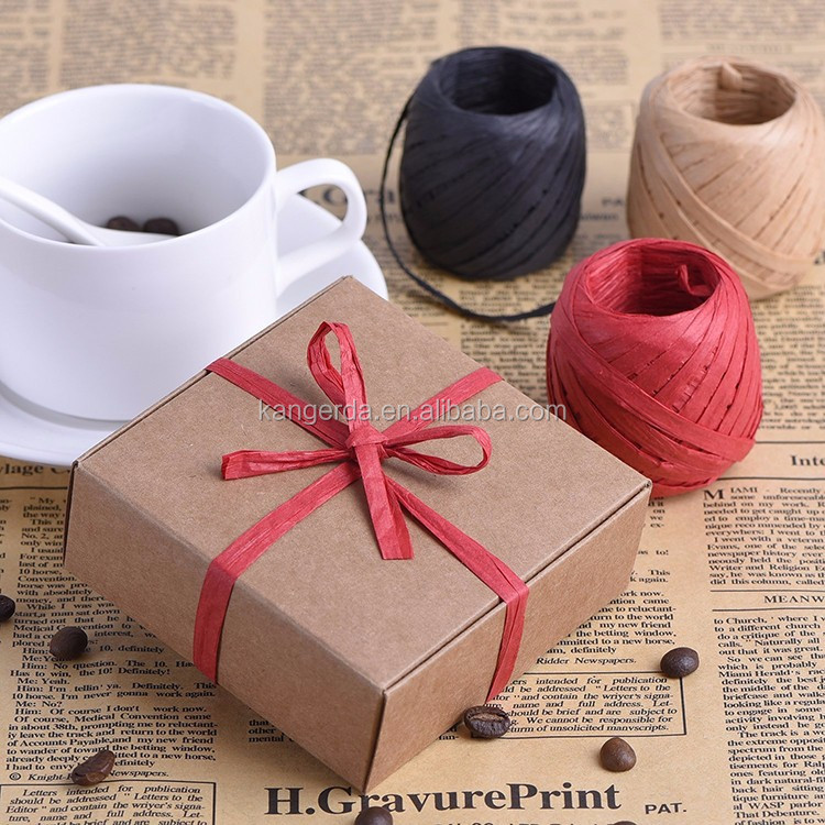 Paper Raffia Egg Palm Ribbon