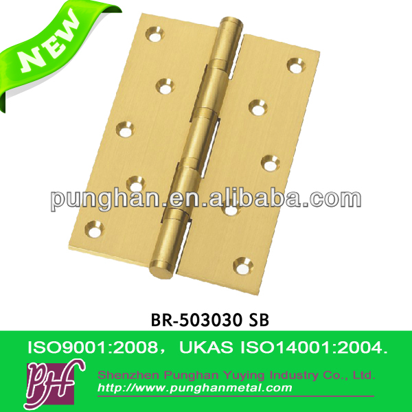 Windows and Doors Brass Hinge