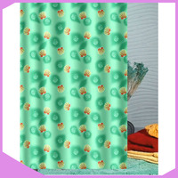 Digital Printing Polyester Fabric Color Changing Shower Curtain