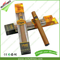 OEM available 1300mah wooden cigar tips electronic cigarette Most Popular Items 1800 puffs disposable e-cigar