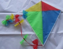 Cheap Custom Logo 190T Polyester Mini Kites for Advertising