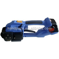 Blue color Electric strapping tool DD160 battery tools hand packing machine