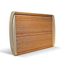 Bamboo Cutting Board kitchen with groove