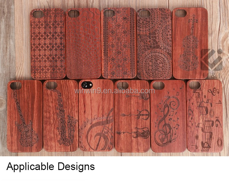 for iPhone7 plus,Natural Handmade Wood Phone Cell Wooden Banyan Engraving Phone Cover