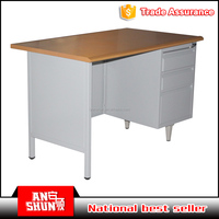 MDF work table top panel steel metal drawers office desk factory