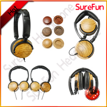 2014 New Fashion best sale stereo gift wooden headset