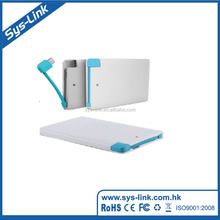 Factory supplier colorful leather power bank