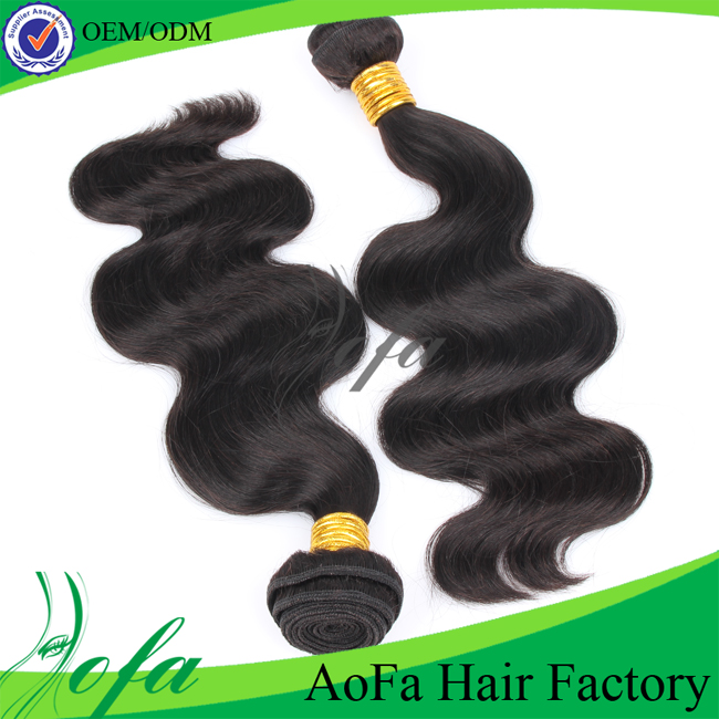 100% virgin raw brazilian remy human hair weave