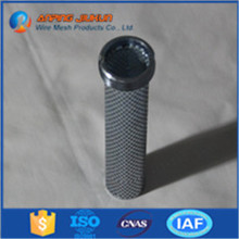 Brand new cylindrical mesh tube for pipe y strainer pellet tube smoker works with charcoal grills with high quality