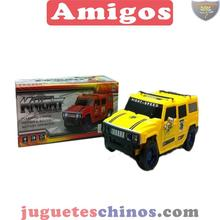 chenghai plastic Transform hummer car red yellow funny vehicle transforming robot toy from China