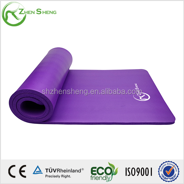 10mm yoga mat for European standard