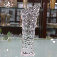 Wholesale Wedding Glass Vase,Machine Made Gathering Rose Glass Transparent Vase,Cheap Tall Glass Vases