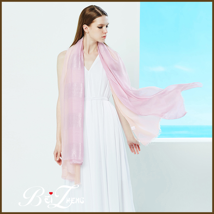 China Made Wholesale Large Size Suncreen Modal Silk Scarf & Shawl in stock