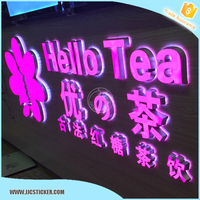 Hot sale acrylic alphabet letter,customized acrylic light letters,full color outdoor LED open sign