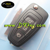 Factory price keyless for ford focus remote key 3 butons car remote key 433mhz with 4D63 chip 80bit