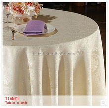 2014 High quality plastic round table cover