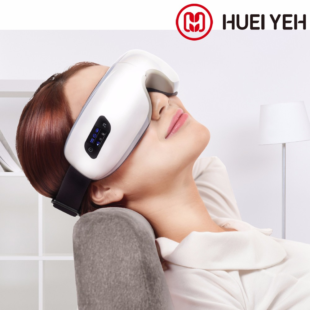 Heat And Music Output Electric Vibration Eye Massage Mask