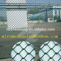 Fence factory hot sale PVC coated/galvanized chain link fence for sporting field