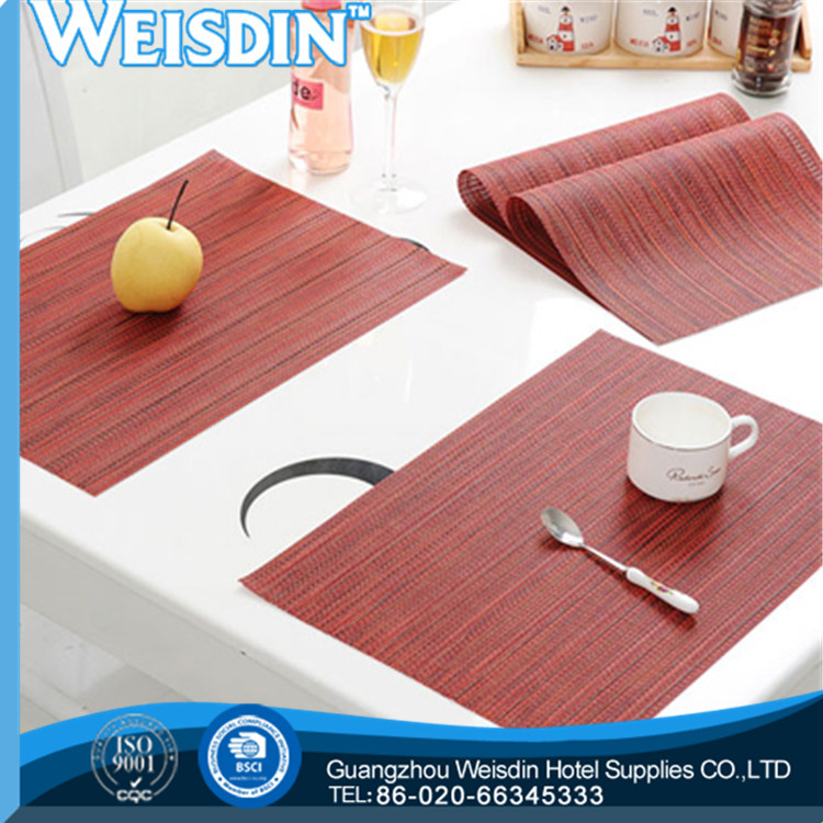 eco-friendly china manufacturer printed recycled granite placemats and coasters