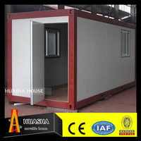 Low Cost Prefab Flat Pack Office Container