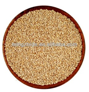 whitish sesame seed