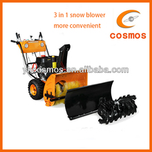 3 in 1 snow sweeper 375cc electric starter