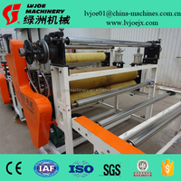 decorative PVC laminating and coating machine/paper sticking production line
