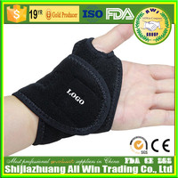 AWI-C04 Neoprene material self heating velcro wrist bands