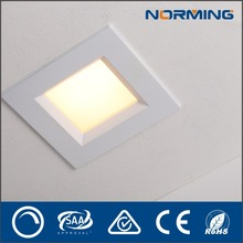 Best Selling high quality 13W SMD Square led office ceiling light Recessed Dimmable led downlight