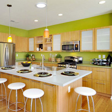 Wholesale factory kitchens direct colorful modular kitchen design pictures