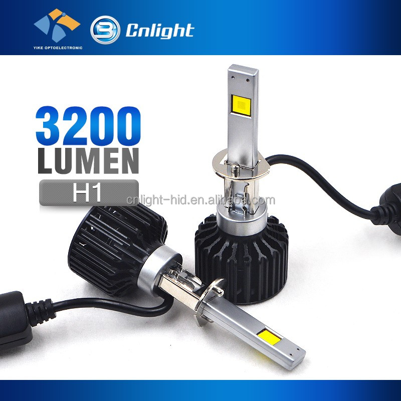 Five Star Factory Top Quality 35W 4000 LM h1 h4 h7 h11 9006 Motorcycle Auto Parts Headlights LED Car Parts For All Cars
