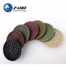 Z Lion 4 inch tiles polishing pads diamond tools angle grinder grinding disc
