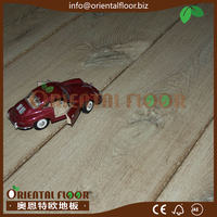 High End Hand Made Asian High End Oak Flooring and Red Oak Mulitlayer Wood Flooring