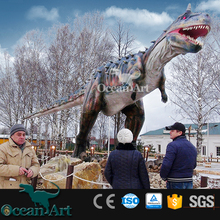 OAV7191 Hot Handmade Life Size Real Dinosaur Pictures