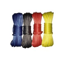 Synthetic cord mooring sailing uhmwpe kevlar winch rope