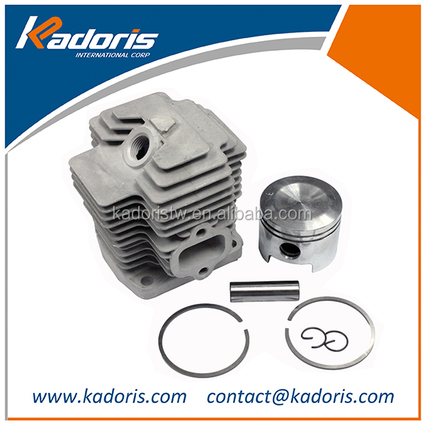 High quality brushcutter cylinder piston th48 parts for Kawasaki